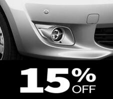 15% off Mirage fog light kit coupon