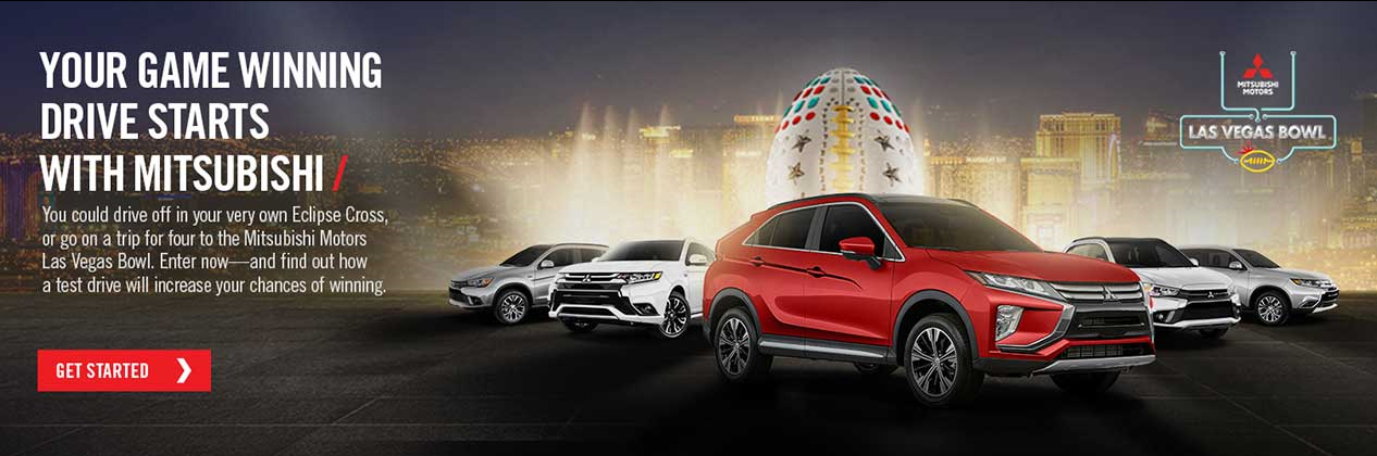 Your Game Winning Drive Starts with Mitsubishi at Camacho Mitsubishi