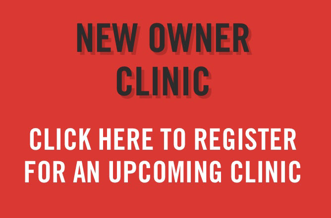 Free new owner clinic