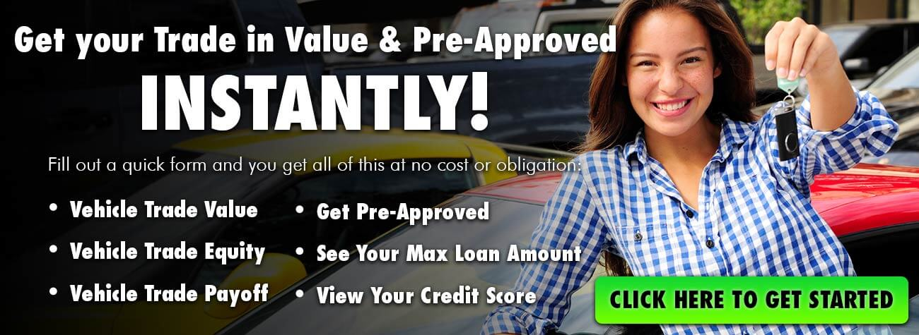 Get Your Trade in Value & Get Pre-Approved Instantly at Camacho Mitsubishi